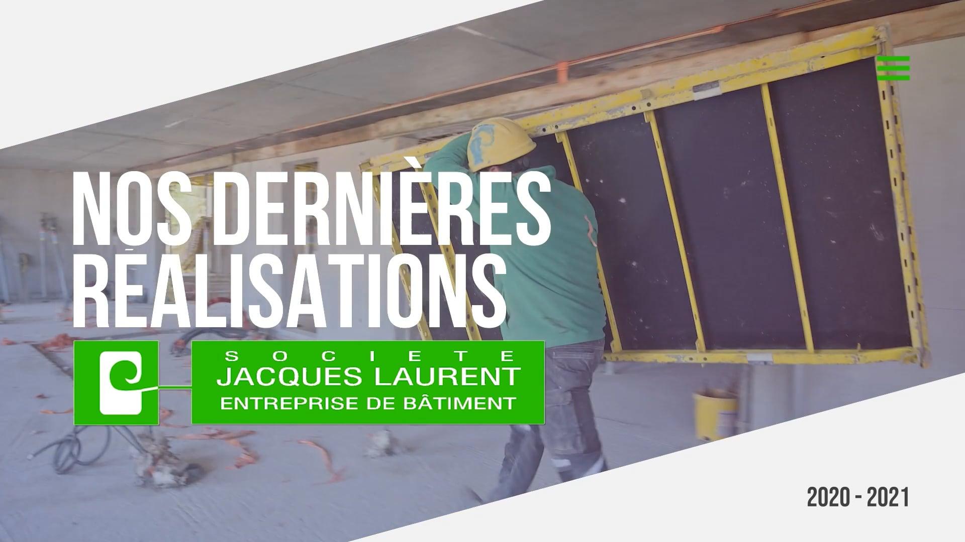 Réalisations Entreprise Jacques Laurent