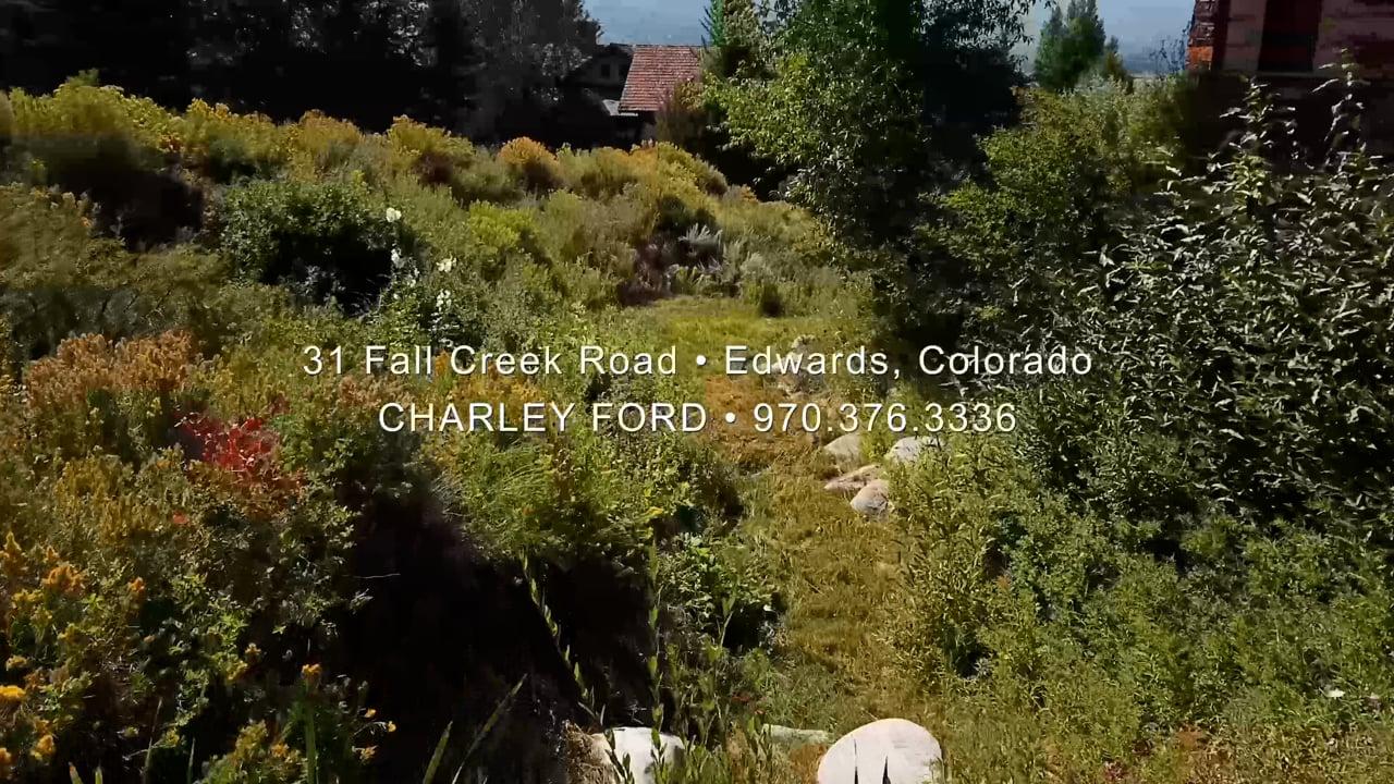 31 Fall Creek Road Edwards Colorado Charley Ford.mp4