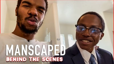 MANSCAPED Behind The Scenes! (The Secret Season S2 Ep.6)