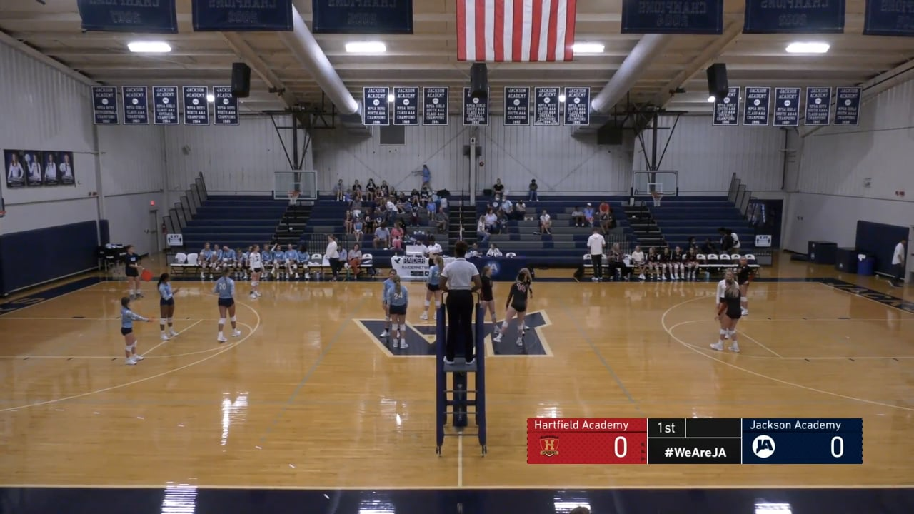 JV Volleyball vs Hartfield Academy - 08-19-21