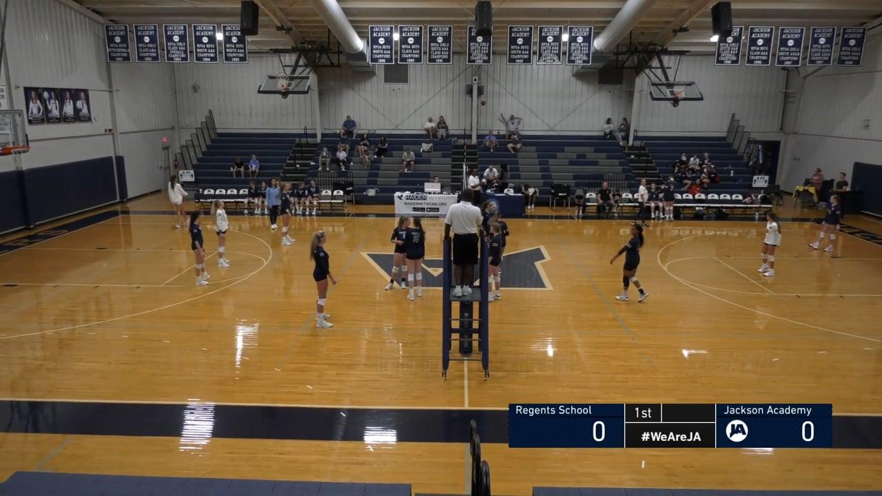 Varsity Volleyball vs Regents - 08-21-21