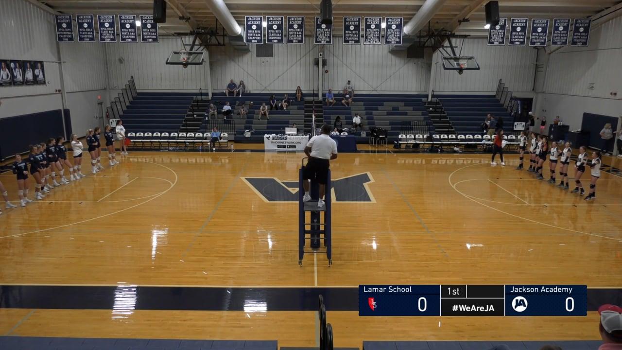 Varsity Volleyball vs Lamar School - 08-21-21