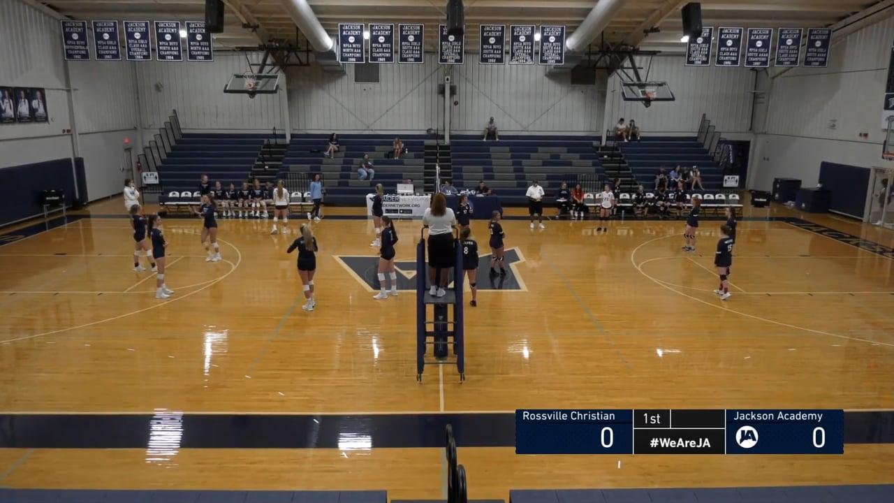 Varsity Volleyball vs Rossville Christian - 08-21-21