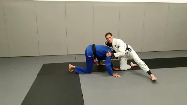 Sprawl contre double leg et contre vers prise de dos ou montée