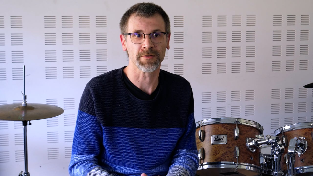 École de musique : Batterie - Guillaume Leclercq