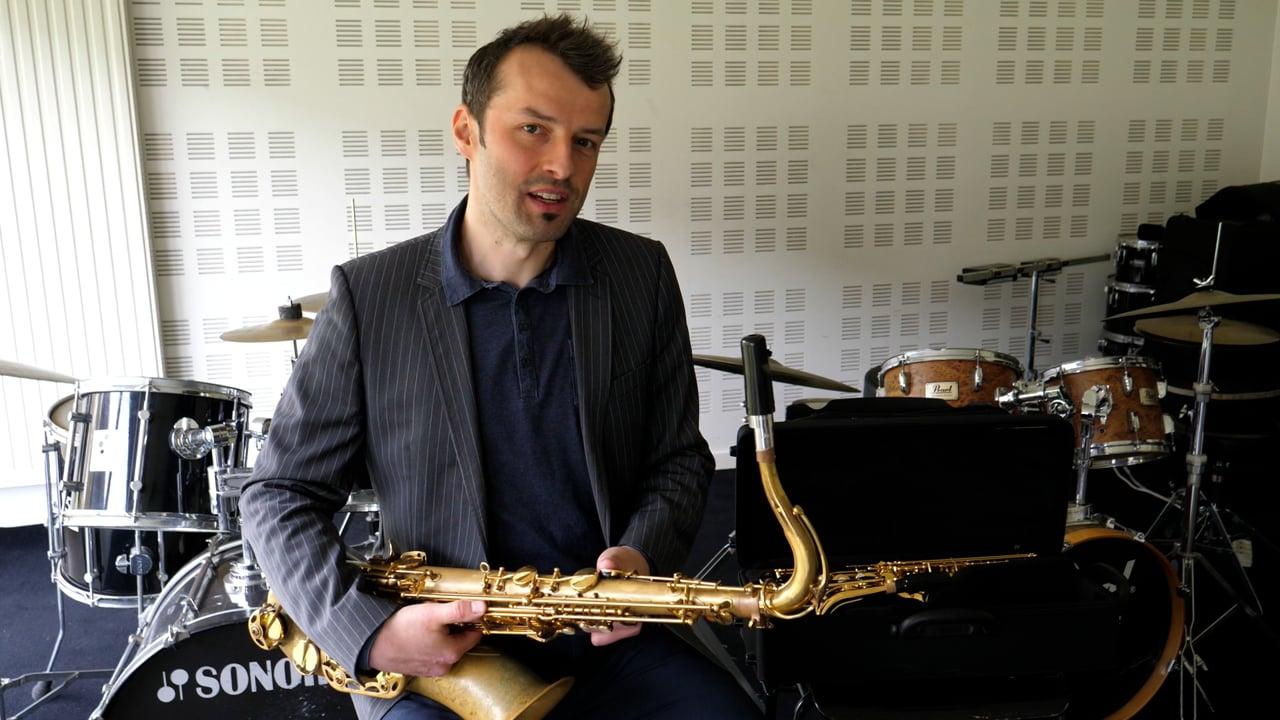 École de musique : Saxophone - Sébastien Muller