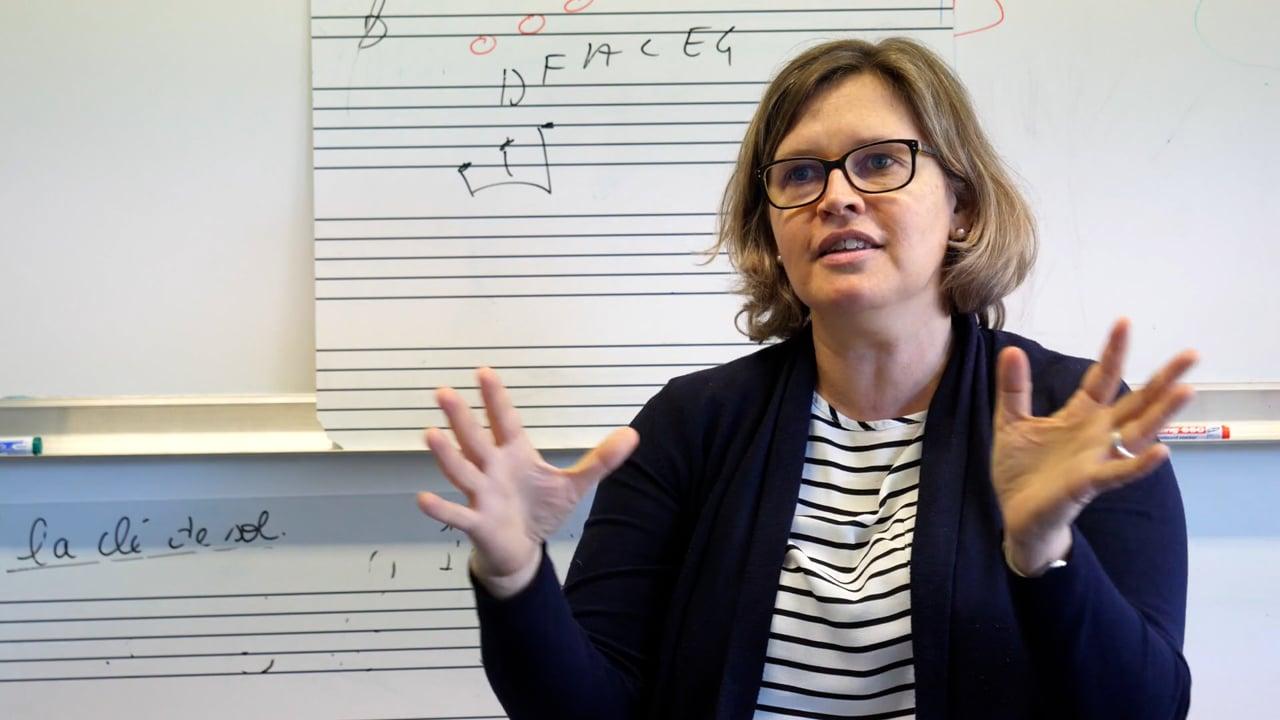 École de musique : Éveil musical - Stéphanie Ronsin