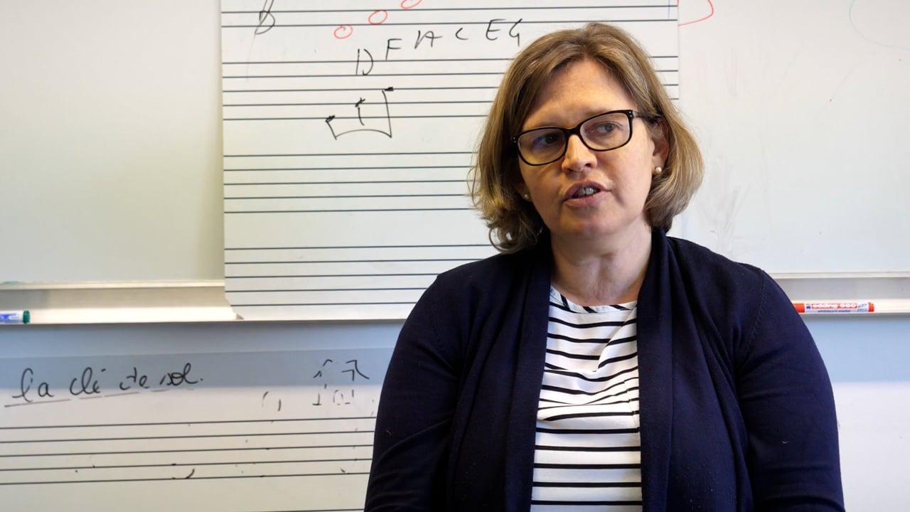 École de musique : Initiation musicale - Stéphanie Ronsin