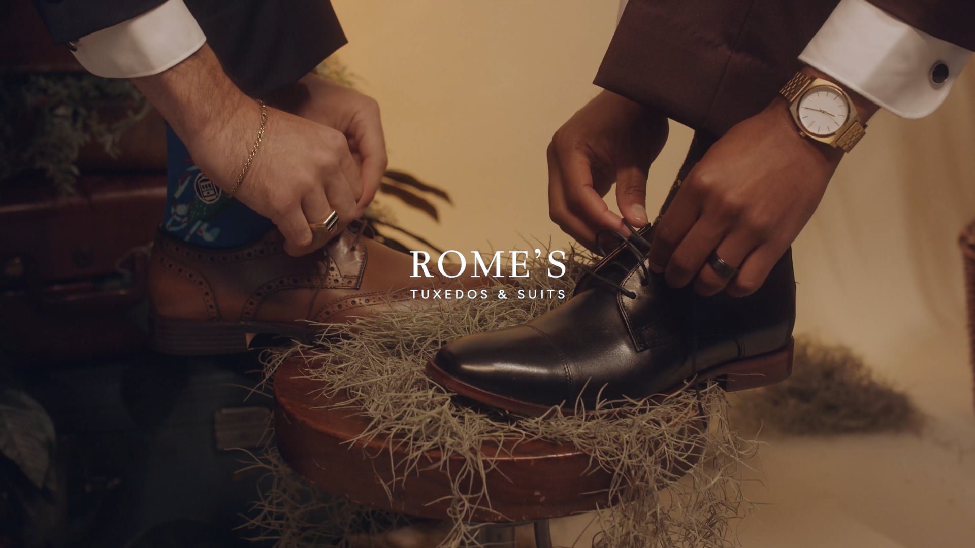 Rome's Tuxedos Commercial