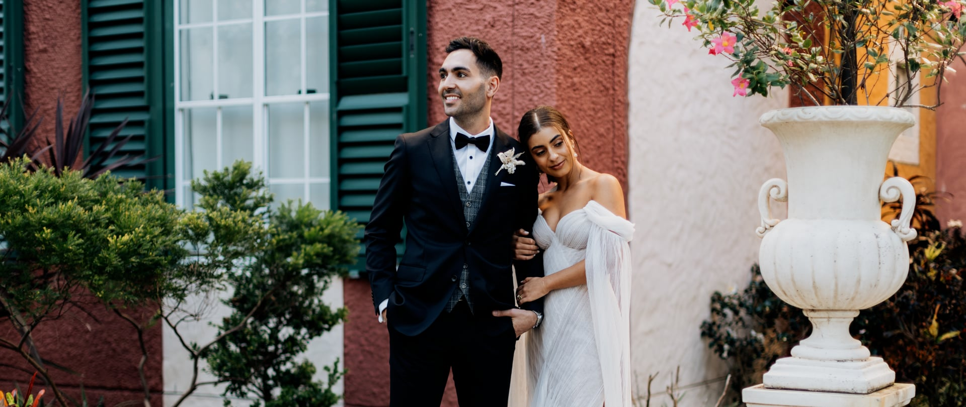 Erato & Rhys Wedding Video Filmed at Gold Coast, Queensland