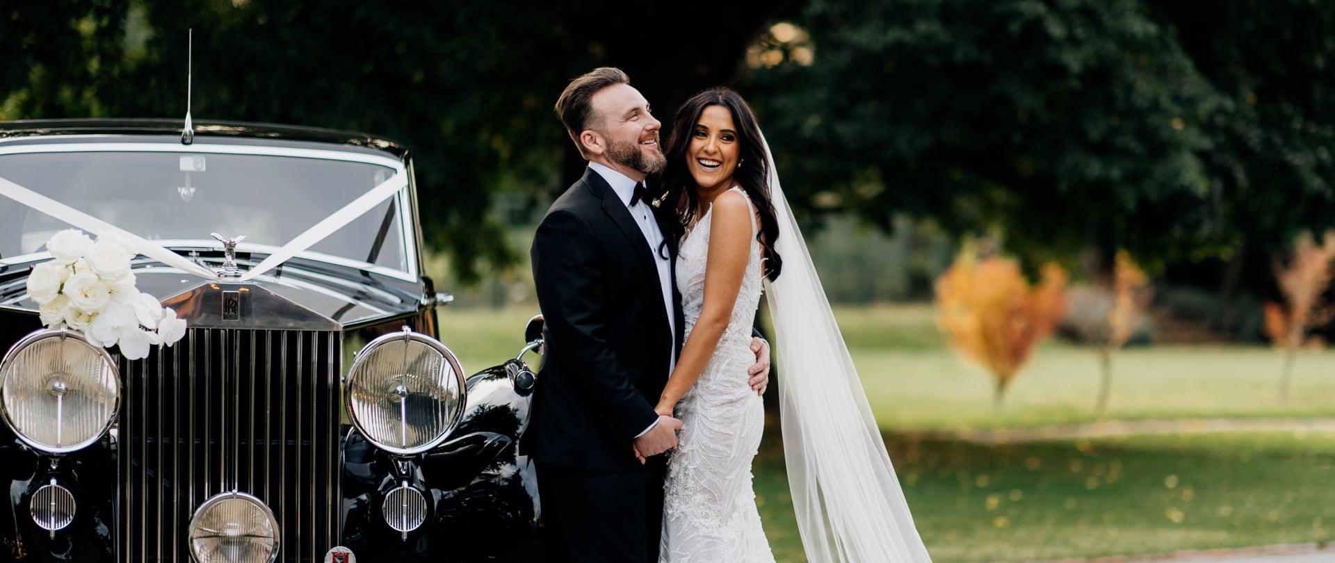 Janet & Allister Wedding Video Filmed at Yarra Valley, Victoria