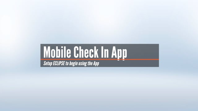 Mobile App Setup