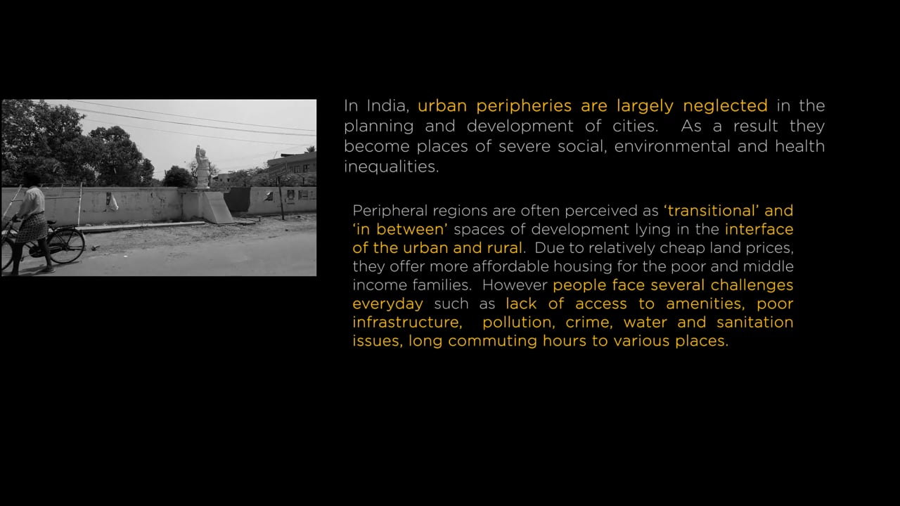 Living in/the (In)visible Peripheries, a video by Lakshmi Rajendran & Antony Morais
