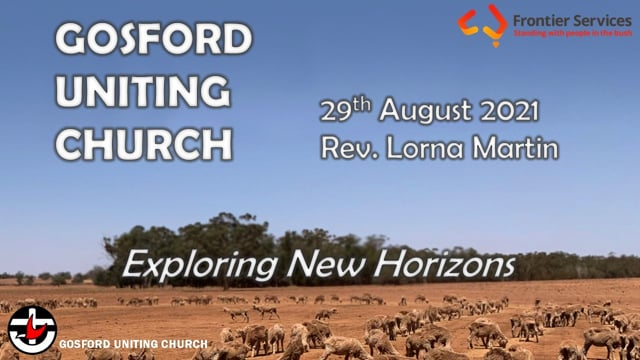 29th August 2021 - Rev. Lorna Martin