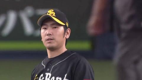 【7回裏】ホークス・石川 7回3奪三振1失点の好投!! 2021/8/28 B-H