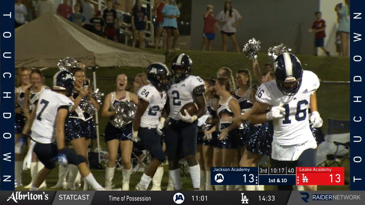 Varsity Football vs Leake Academy - 08-27-21