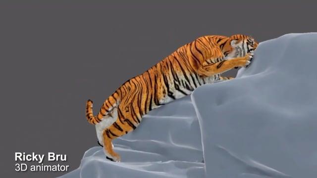 50085Modelado 3D y animación profesional de personajes estilo cartoon