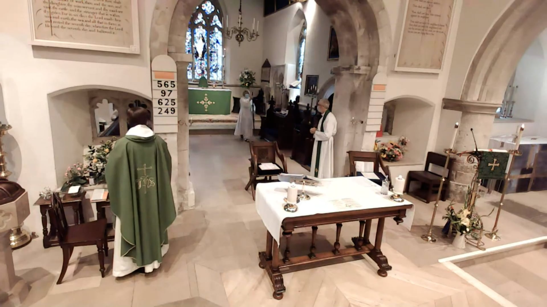 Sunday Sung Parish Eucharist - LIVE - Sunday 29th August 2021