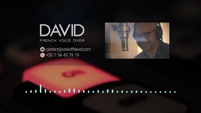 Voix Off • Voice Talent David Joppart Showreel Corporate movies