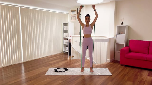 5 Minute Arms Toning (with Ring and Band)