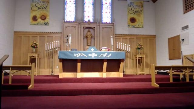 Zion Sunday Worship August 29 2021
