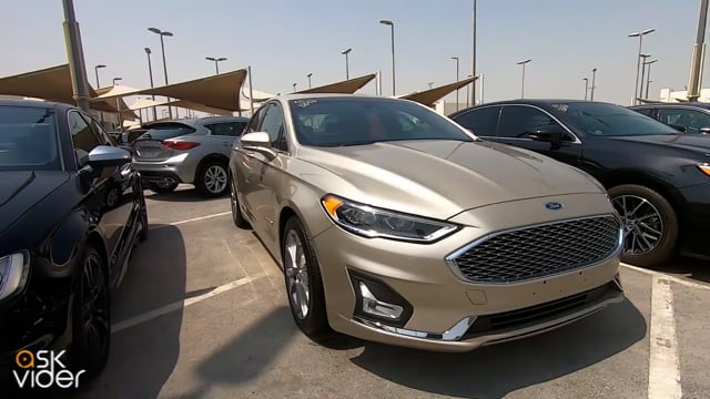 FORD FUSION HYBRID - GOLD...