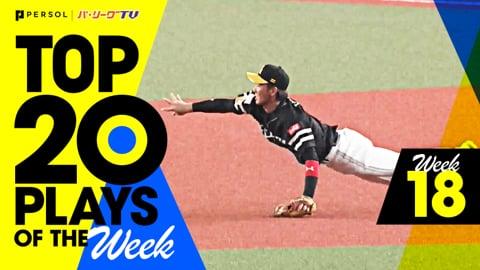 【2021】TOP 20 PLAYS OF THE Week #18(8/24〜8/29)先週の試合から20のベストプレーを配信!!