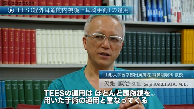 TEES(経外耳道的内視鏡下耳科手術)とは?適用や今後の課題