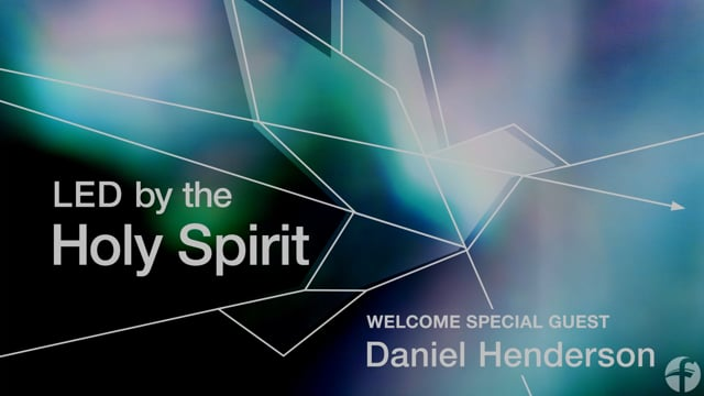 LED by the Holy Spirit | Session 1 | 8-29-21