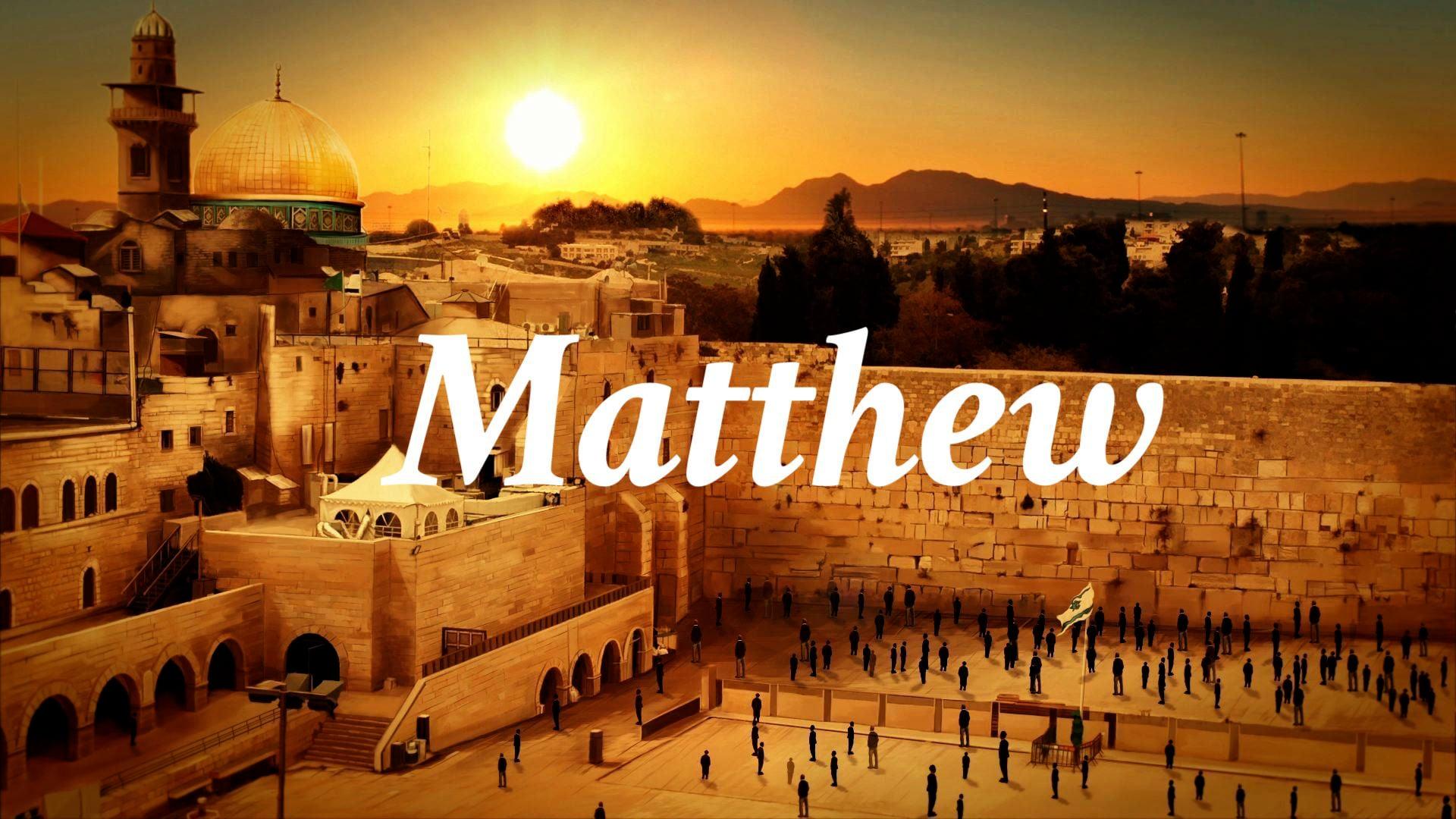 "Matthew 8:23-9:8  ""Three Miracles"""