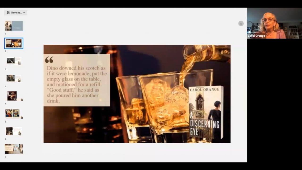 Author Talk: A Discerning Eye with Carol Orange