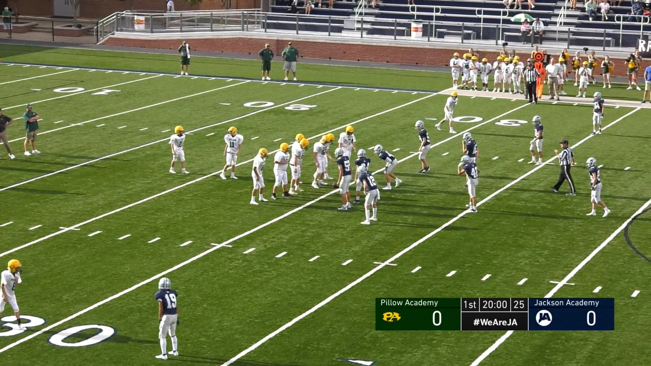 B Team Football vs Pillow Academy - 08-26-21