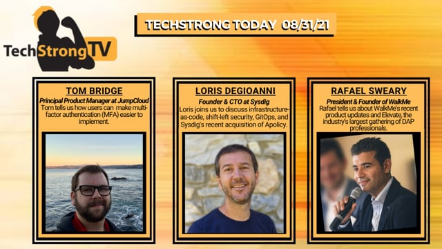 TechStrong TV - August 31, 2021