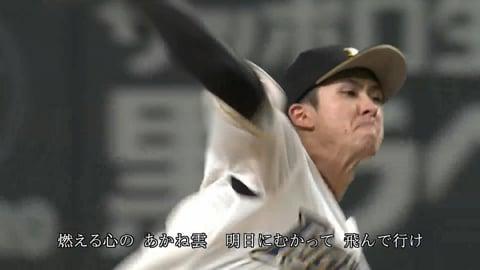 【7回表】135球の熱投!! ファイターズ・上沢 7回を投げて1失点10奪三振!!   2021/8/31 F-B
