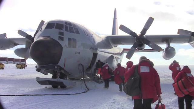 Arriving in the Central Transantarctic Mountains - Antarctica Video Report #6