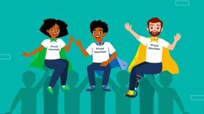 Volunteering: Volunteer training (S3E5) - CLC Animation