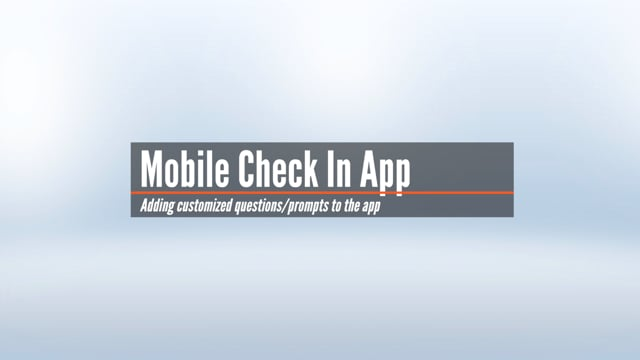 Mobile App Customization