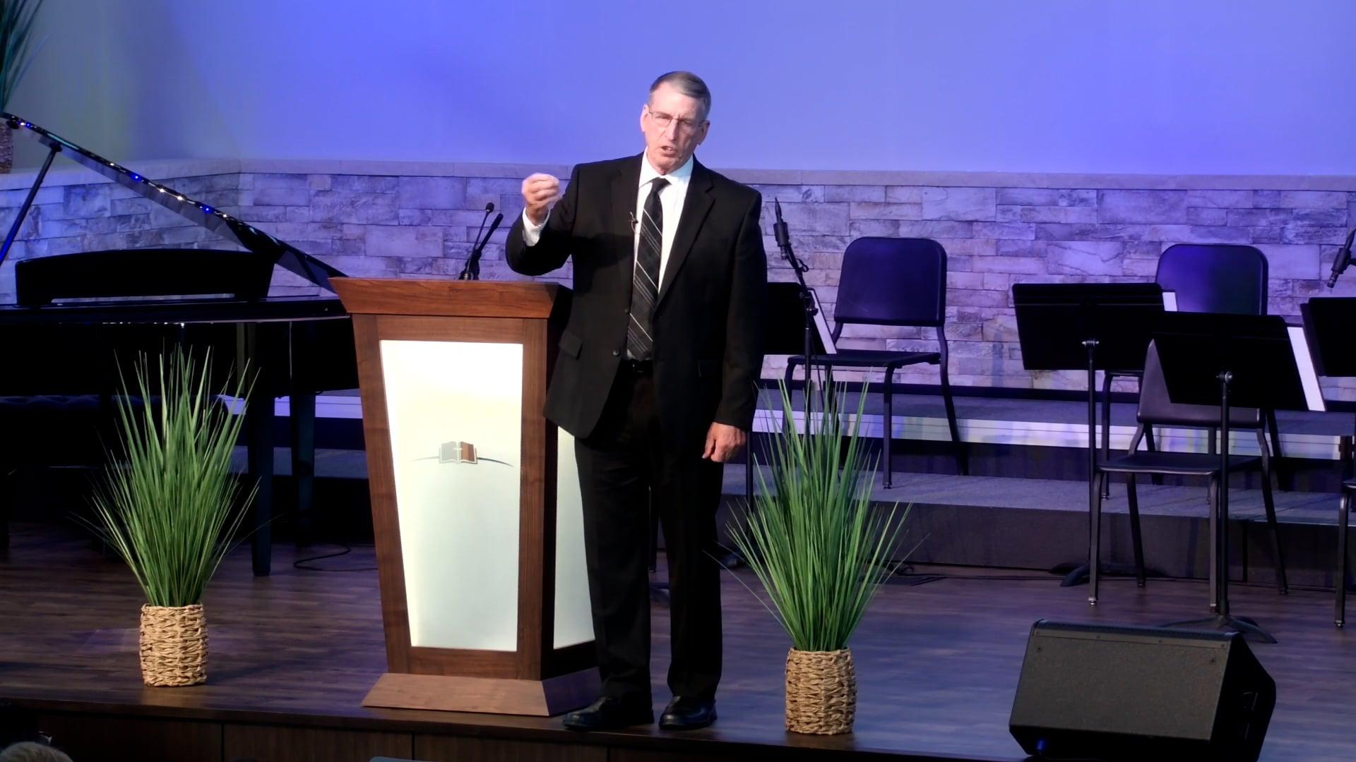 8/29/2021 Dr. John Goetsch - Sunday PM