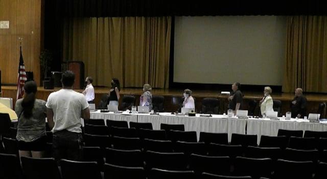 2021-08-30 School Committee Meeting