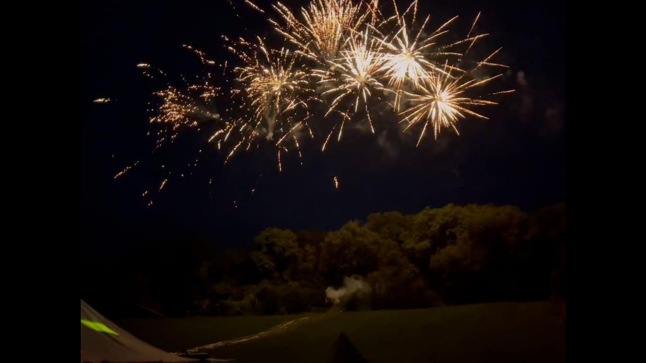 Birthday Party Fireworks