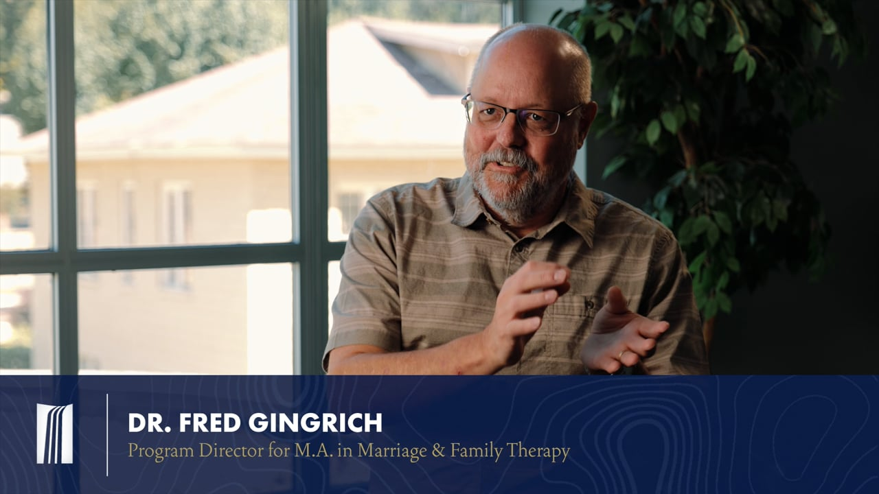 Marriage & Family with Dr. Gingrich