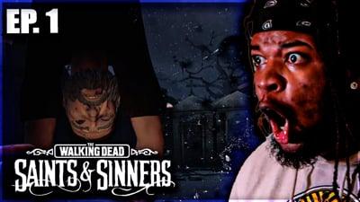 Can Flam Make It One Day Through An Apocalypse!?  Walking Dead: Saints & Sinners VR Walkthrough Ep. 1