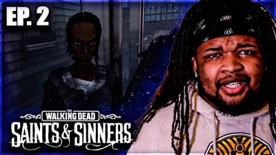 Murdering A Random Crackhead!  Flam's Walking Dead: Saints & Sinners VR Walkthrough Ep. 2