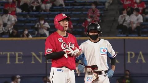 【5回裏】マリーンズ・安田 反撃のタイムリーヒット!! 2021/9/1 M-L