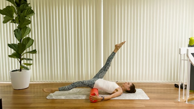 Elongate, Stretch and Back Care (with the foam roller)