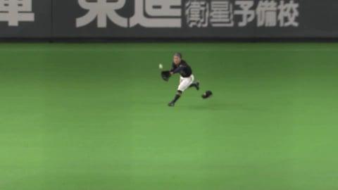 【6回裏】バファローズ・福田が出塁を許さないナイスプレーを見せる!! 2021/9/1 F-B