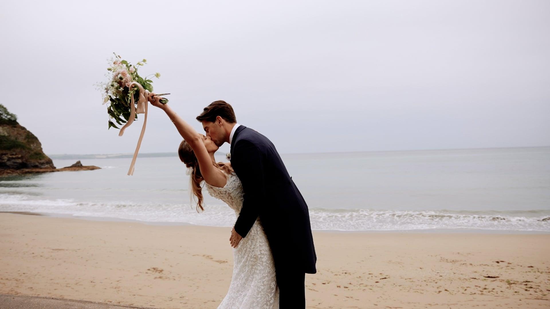 Emily + James - Highlight Wedding Video - Porthpean House, Cornwall