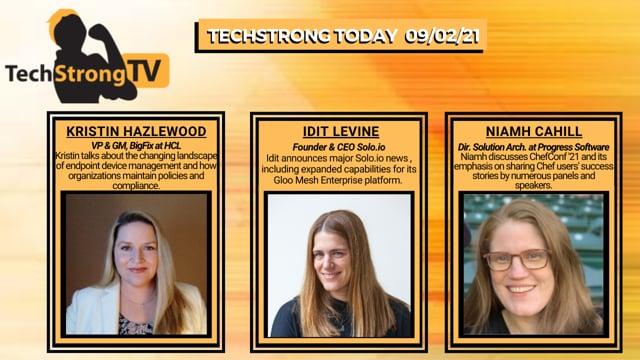 TechStrong TV - September 2, 2021