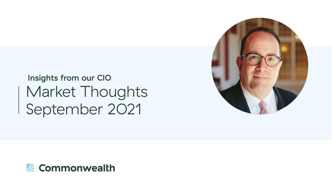 Market Thoughts September 2021