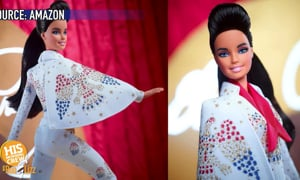 Rock-a-Barbie!